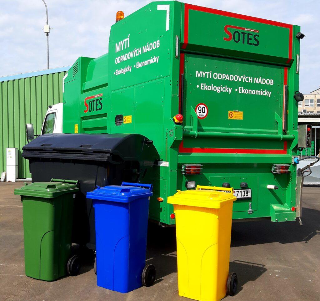 Sotes Sokolov | Mytí odpadových nádob